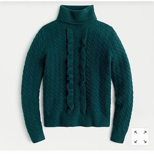 JCrew Supersoft Cable-Knit Sweater